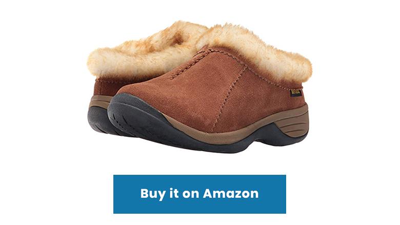 chestnut sheepskin shearling slip on slippers