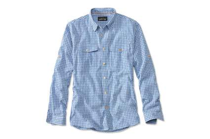orvis seersucker fly fishing shirt