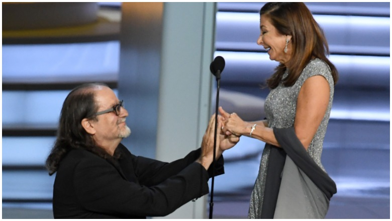 Glenn Weiss and Jen Svendsen, Who got engaged at the 2018 Emmy Awards