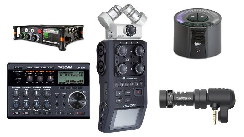 portable audio recorder