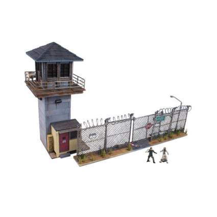 prison tower and gate set