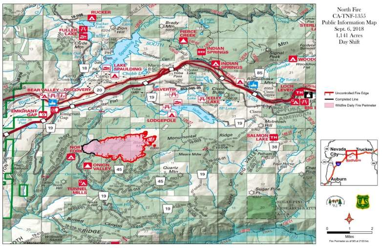 North Fire Map