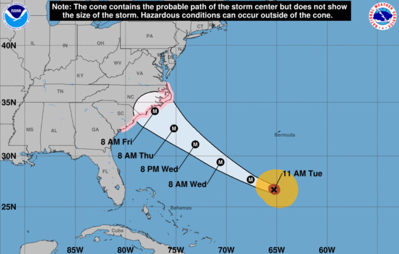 Fayetteville huricane