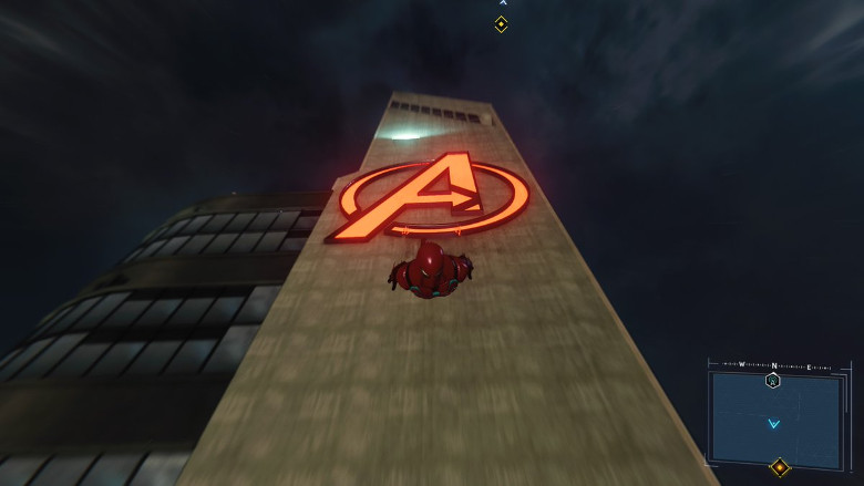 Spider-Man PS4 Avengers Tower