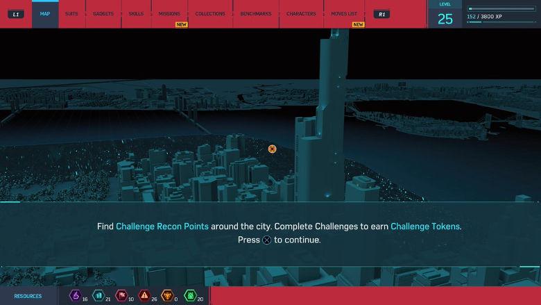 Spider-Man PS4 Challenge Tokens