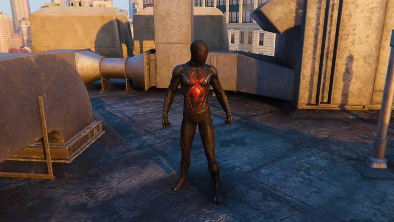 Spider-Man PS4 Dark Suit