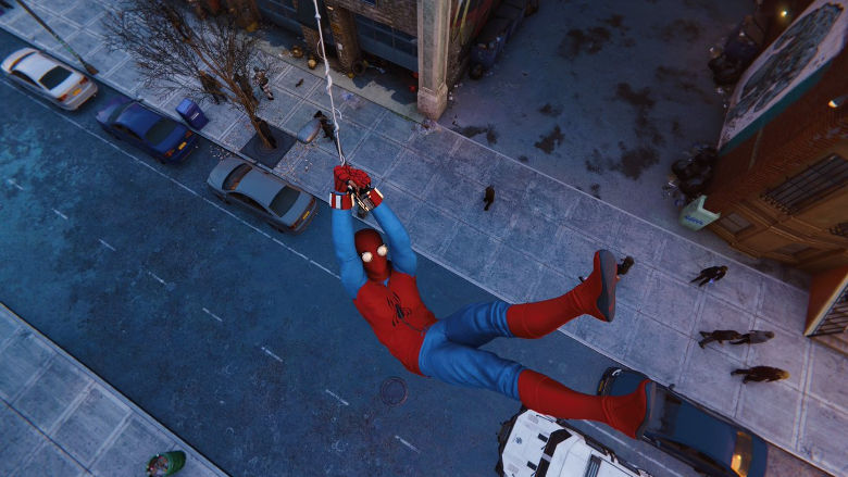 Spider-Man PS4 Homemade Suit