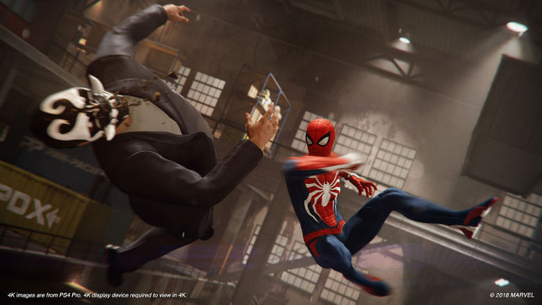 Spider-Man PS4 New Game+