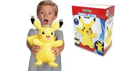 power action pikachu