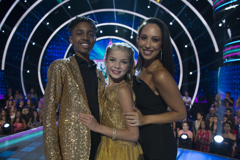 Cheryl Burke On Dancing With the Stars Juniors