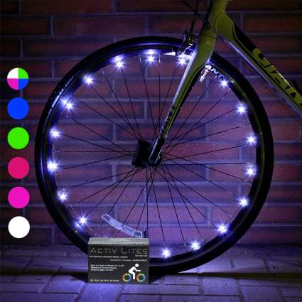 2 Tire Pack LED Bike Wheel Lights