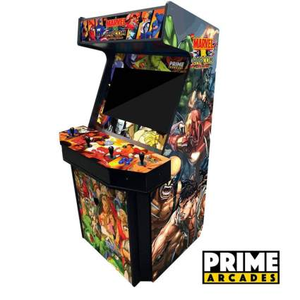 4 Player Upright Arcade Machine with 3,016 Games