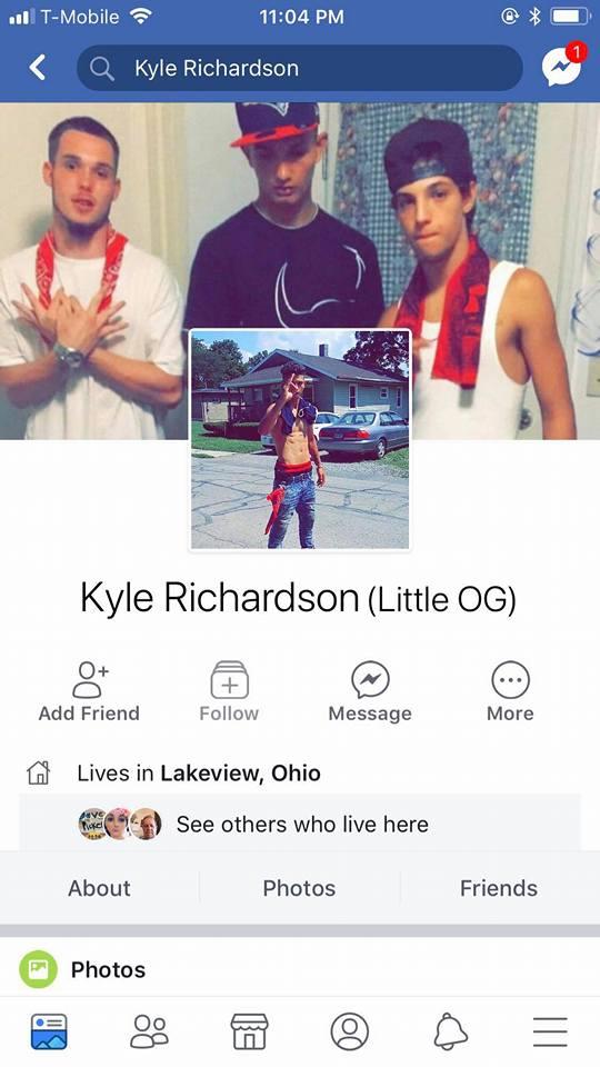 Kyle Richardson Facebook page