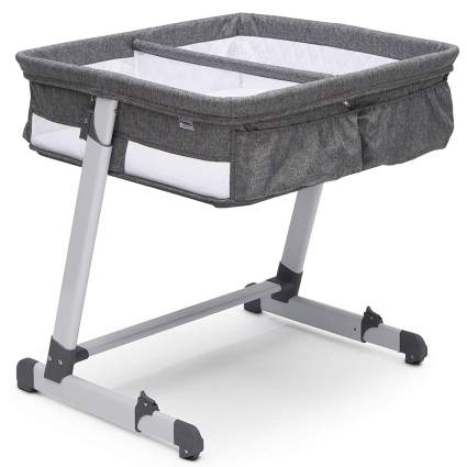 Simmons Kids By The Bed City Sleeper Bassinet for Twins