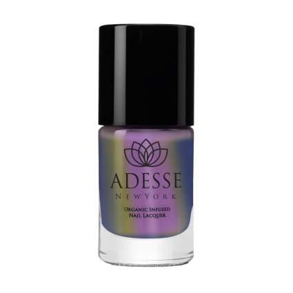 purple chrome nail polish