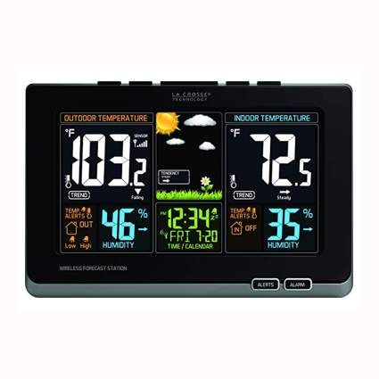 atomic wireless digital weather station