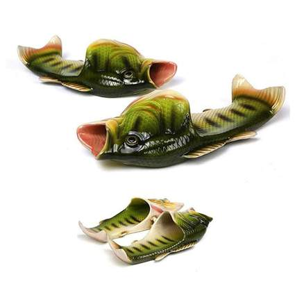 Sandals that look like bass fish