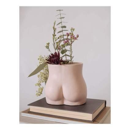 Pink butt planter