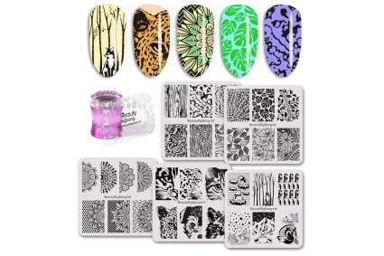 Stamping kit for nail art