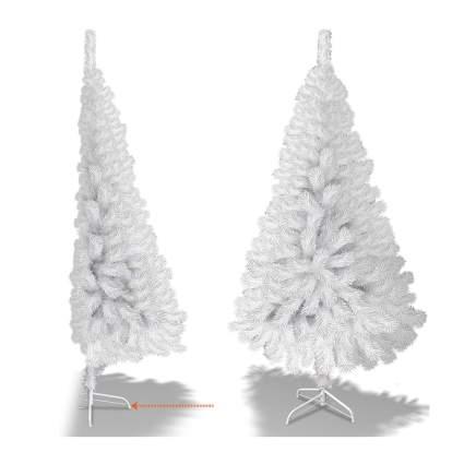 White half artifical christmas tree