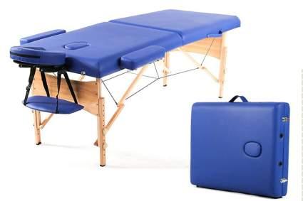 Blue portable massage bed
