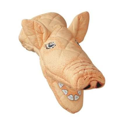 Realistic pig head oven mitt