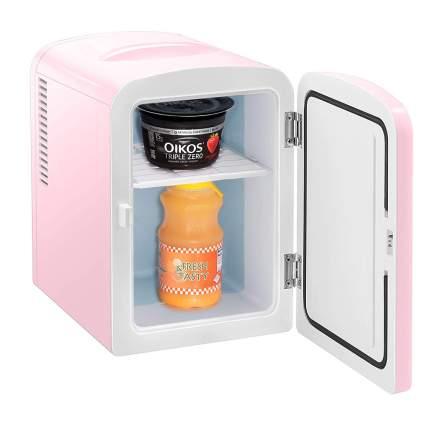 Pink tiny refridgerator
