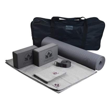 7 piece yoga kit