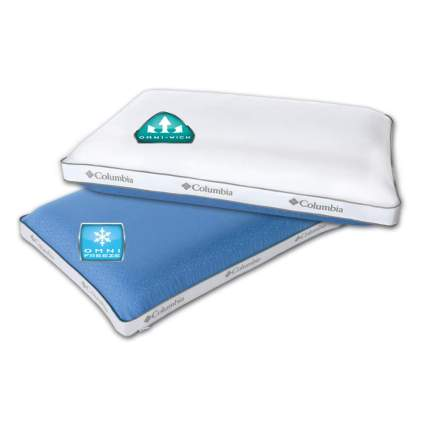 extreme cooling memory foam pillow