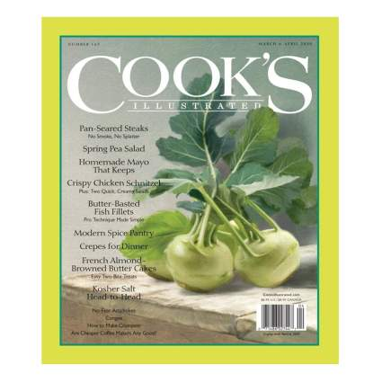 cooking magazine subscription