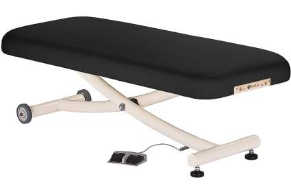 Black Earthlite electric massage table