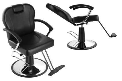 Black reclining all purpose stylist chair