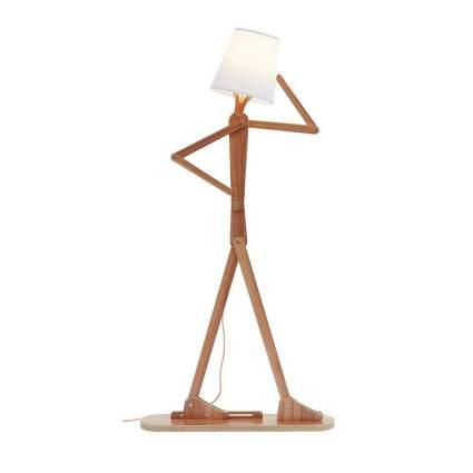 Lamp that looks like stick figure