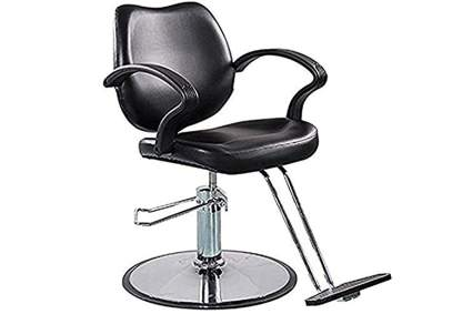 Black simple styling chair