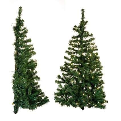 Kurt Adler wall christmas tree