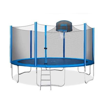 Merax 15 FT Trampoline with Safety Enclosure Net