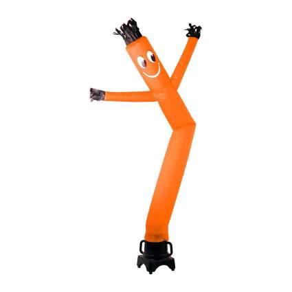 Tall orange dancer puppet