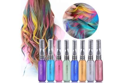 Colorful hair mascara