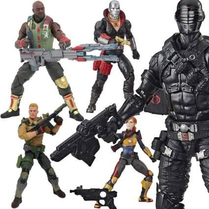 New Hasbro GI Joe Figures
