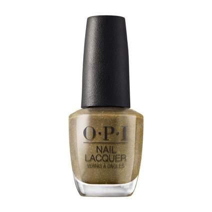dark gold OPI nail polish