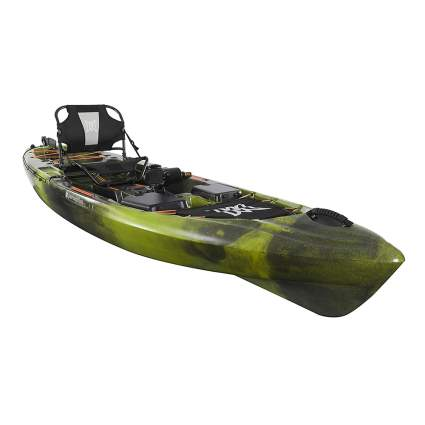 sit on top kayak with pedal drive