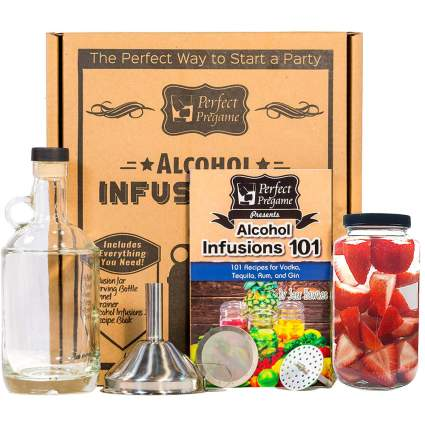 Alcohol infusion kit