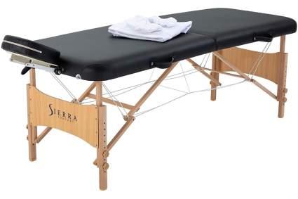 Black Sierra comfort massage bed