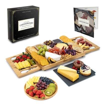 Cheese serving platter