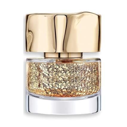 Gold glitter Smith & Cult nail polish bottle