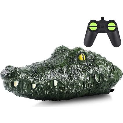 RC crocodile head