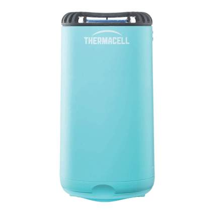 Blue Thermacell patio shield repeller