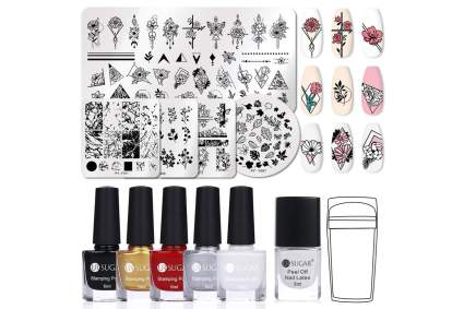 All included UR SUGAR nail stamping beginner set