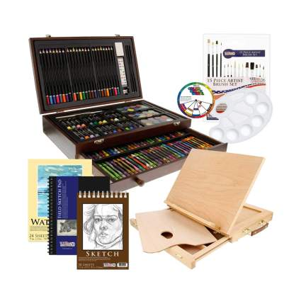 163 piece art set