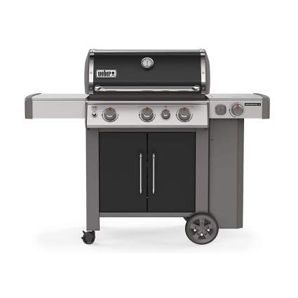three burner gas grill